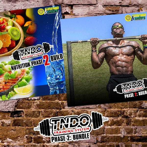 Phase 2: BUILD Bundle -  TNDO Training System & Nutritional Guide
