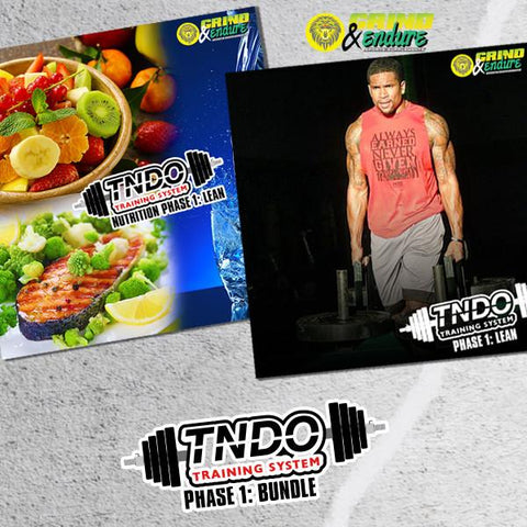 Phase 1: LEAN Bundle  - TNDO Training System & Nutritional Guide