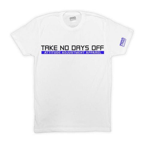 Blue TakeNoDaysOff Performance Tee