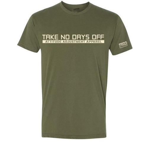 Olive TakeNoDaysOff Performance Tee