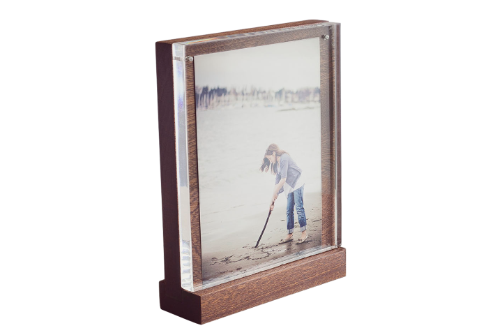 Picture Frame - The Walnut Solo - Husk & Brown