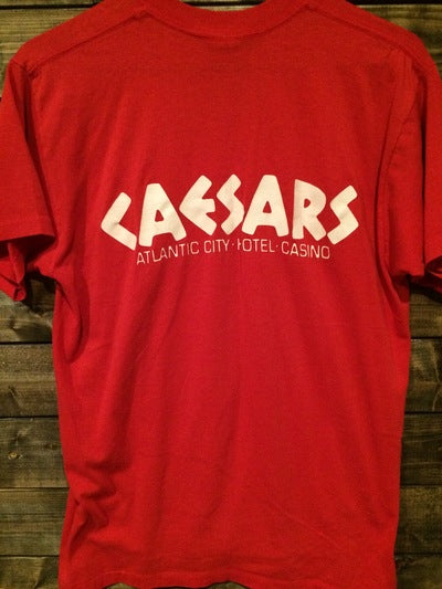 80's Ceasar's Palace Atlantic City Tee