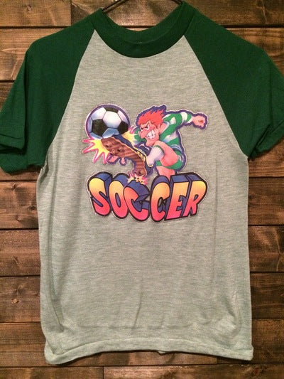 Velva Sheen Soccer Iron On Tee