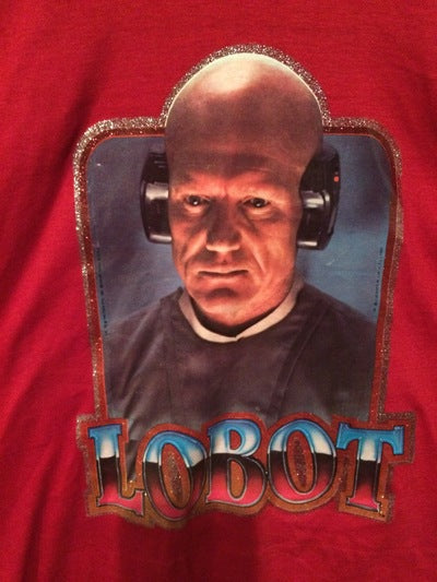 Star Wars Lobot Iron On Tee