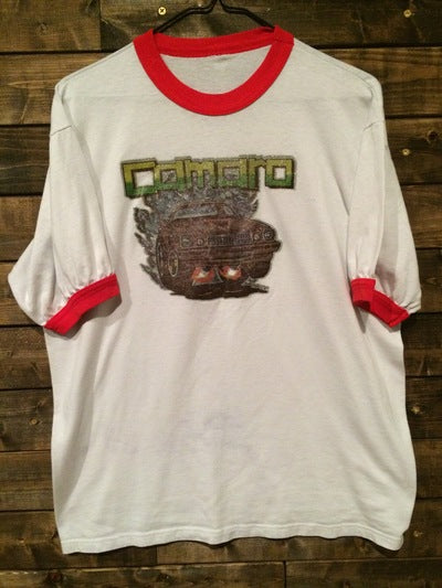 Camero Iron On Ringer Tee