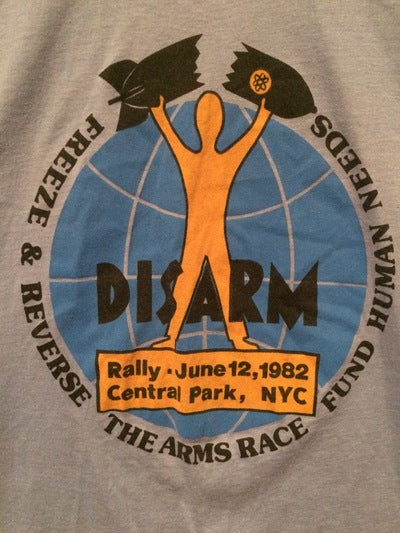 1982 New York City Nuclear Protest Tee