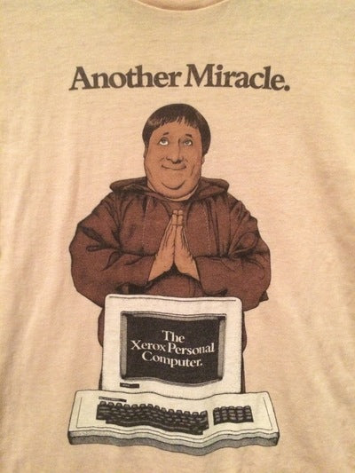80's Xerox It's a Miracle Tee