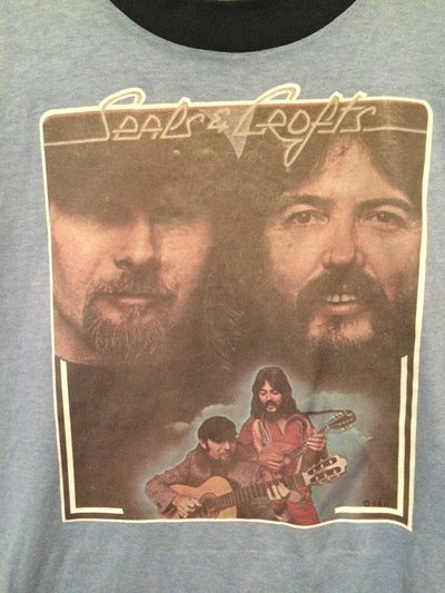Seals and Crofts Iron On Tee