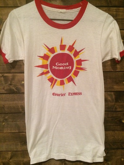 70's Buffalo, NY Newspaper Ringer Tee