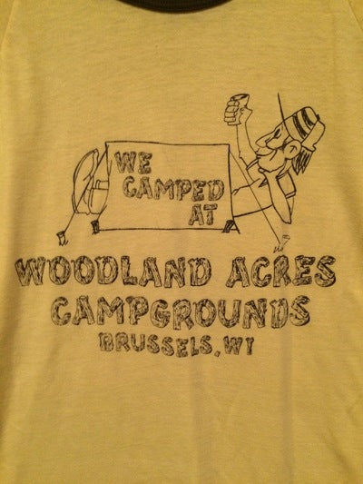 Wyoming Camp Ringer Tee