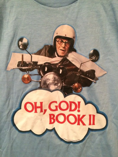 George Burns Oh God Book 2 Iron On Tee