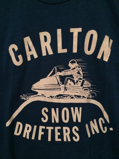 80's Carlton Snowmobile Club Te