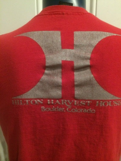 80's Boulder, CO Hilton Harvest House Tee