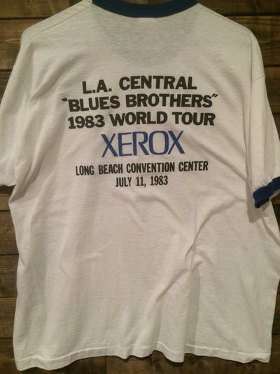 1983 Blues Brothers Cover Band Ringer Tee
