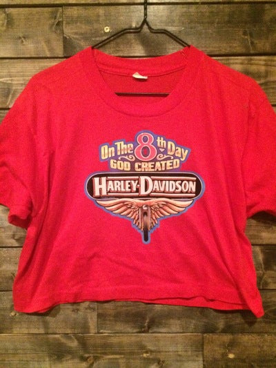 Harley Davidson Iron On 1/2 Tee