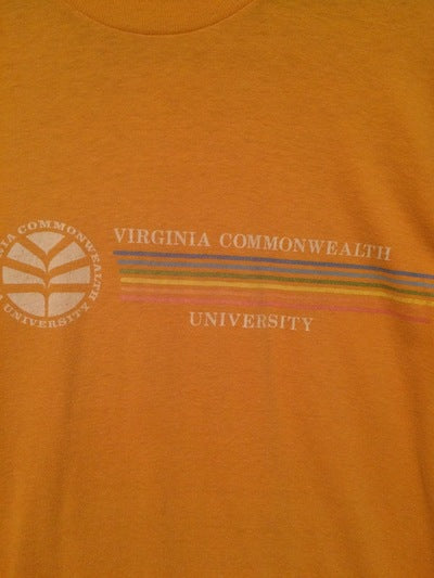 80's Virginia Commenwealth Velva Sheen Tee