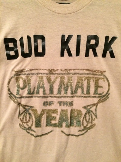 Bud Kirk Playmate of the Year Iron On Tee
