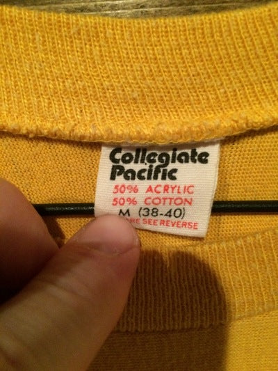 70's Franklin College 3/4 Sleeve Tee
