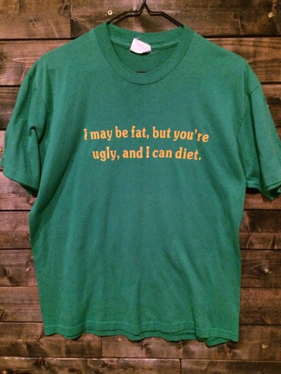 80's Funny Fat Tee