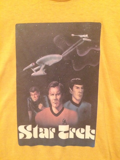 Star Trek Iron On Tee