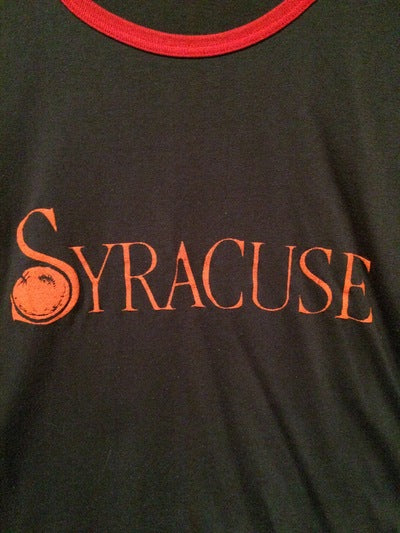 80's Syracuse Sleeveless Muscle Tee