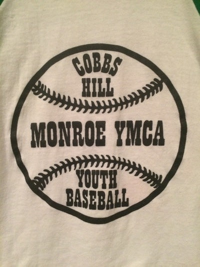 80's Cobbs Hill Little League 3/4 Sleeve Jersey Tee
