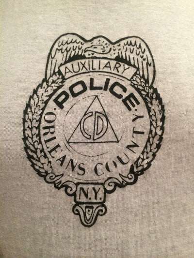80's Orleans County Police Ringer Tee