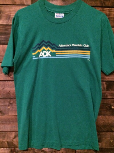 1985 Adirondaks Mountain Club Tee
