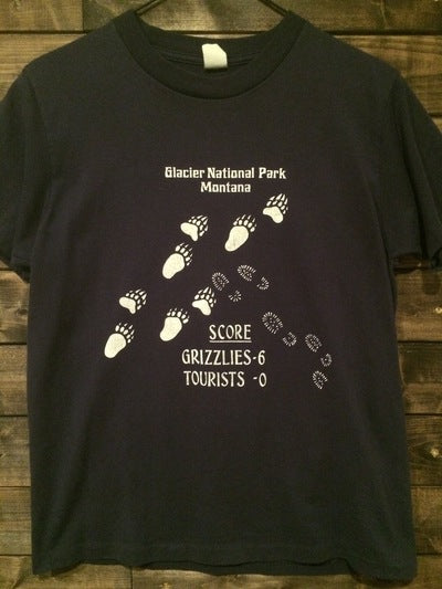 Funny 80's Glacier National Park Tee
