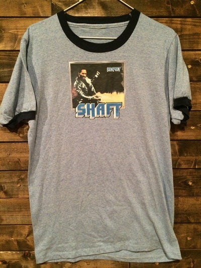 Shaft Iron On Ringer Tee