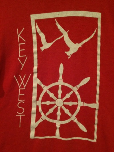 80's Key West, FL Velva Shen Tee
