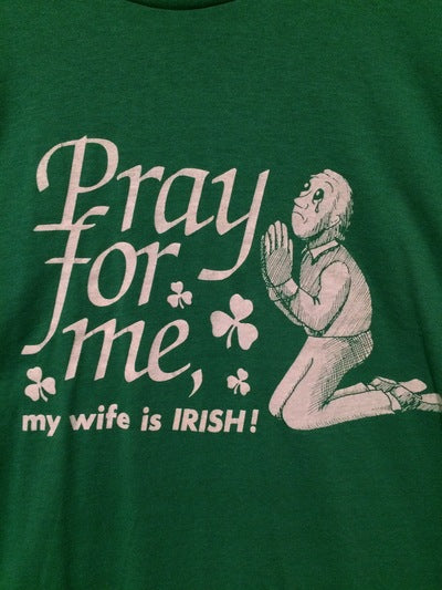 Funny Irish Wife Tee