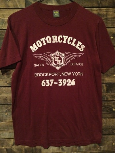 1980's Hollink Honda Motorcycle Tee