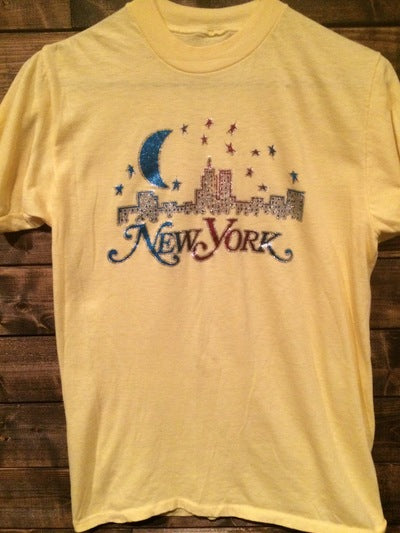 80's Paper Thin New York City Iron On Tee