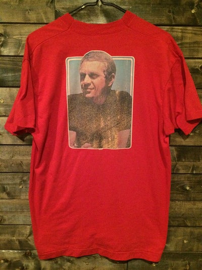 Steve McQueen Iron On Tee