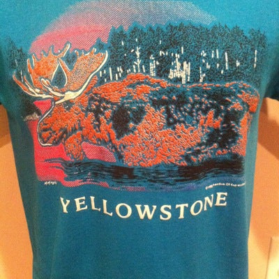 1990 Yellowstone National Park Tee