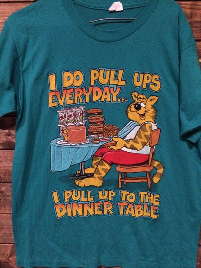 80's Funny Pull Up Tee