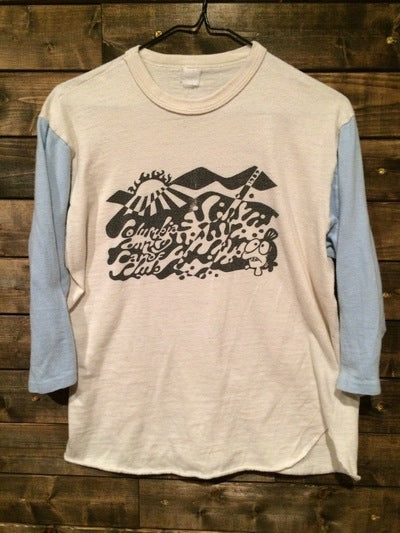 1989 Columbia Canoe Club 3/4 Sleeve Tee