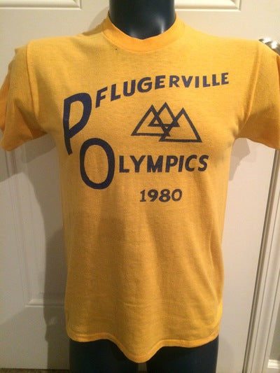 1980 Pflugerville Olympics Tee