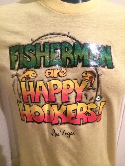 Super Rare Rat's Hole Iron On Las Vegas Tee