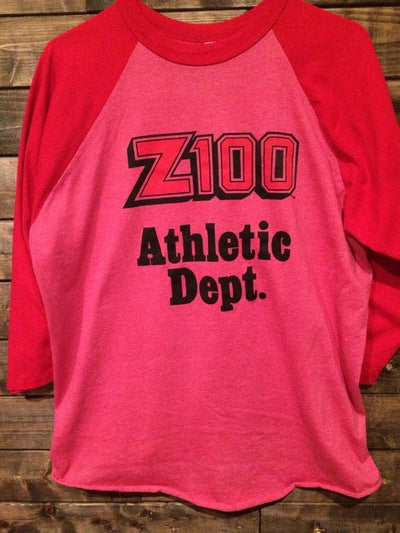 New York City Radio  Z100 Softball Jersey