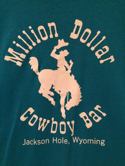 80's Million Dollar Cowboy Bar Jackson, WY Tee