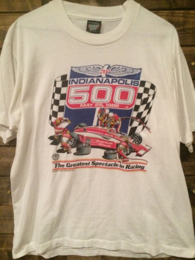 1986 Indy 500 Tee