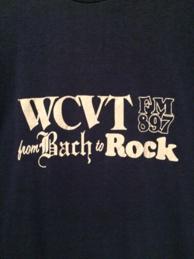 1980's  Burlington, VT Radio Tee
