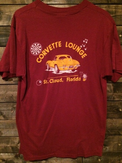 Corvette Lounge St. Cloud. FL Tee