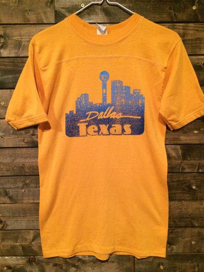 80's Dallas, TX 3/4 Sleeve Tee