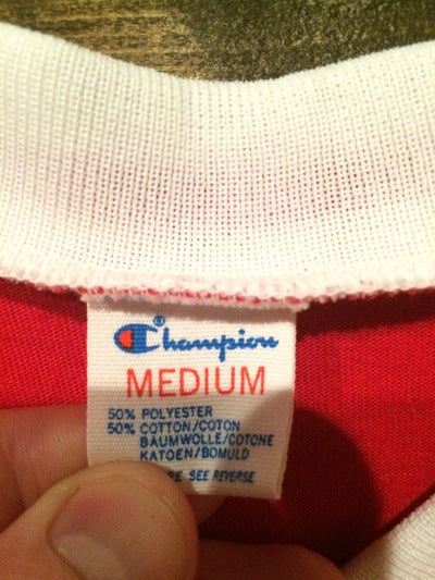 Politically Incorrect 80's Iron On  Champion Brand Tee