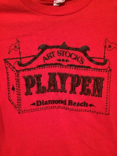 Early 80's Art Stock's Playpen South Tee