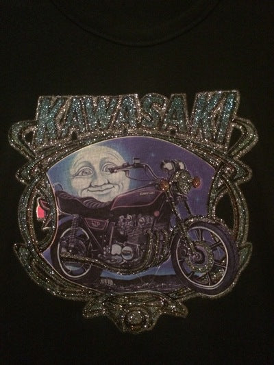 Women's Kawasaki Iron On Tee