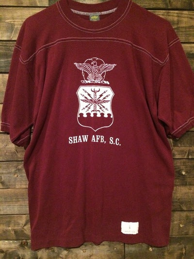 80's Shaw Air Force Base, SC 3/4 Sleeve Shirt